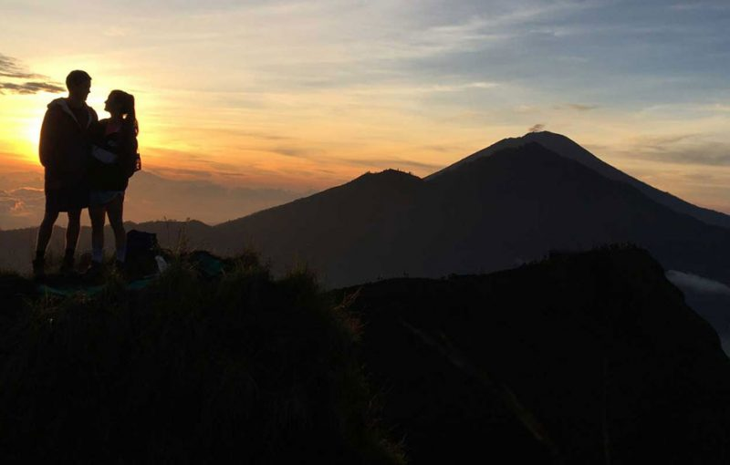 Mount BaturTrekking - Bali Honeymoon Trip