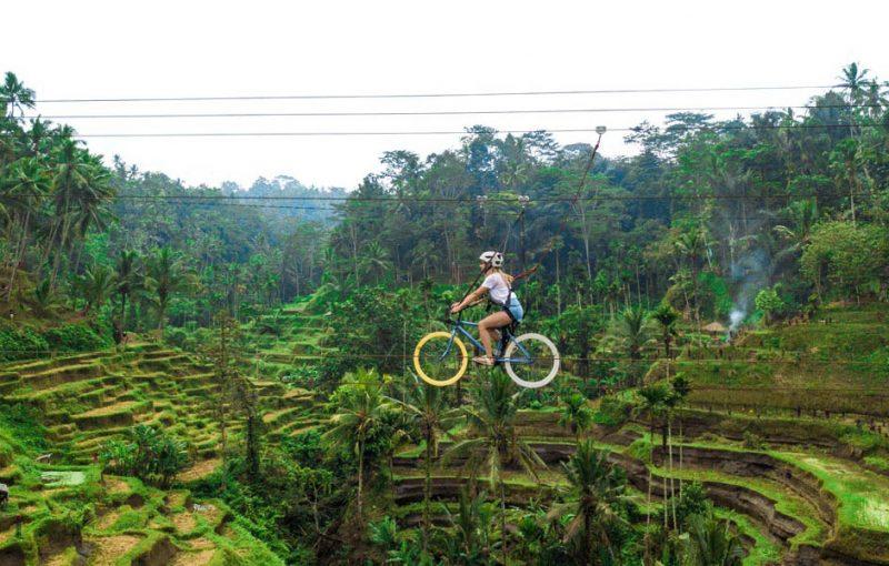 Sky Bike Ubud Bali Travel Planner