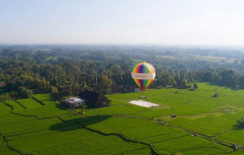 Air Balloon Bali and romantic dinner